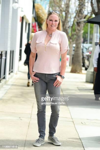 Audra Lynn is seen on April 08 2019 in Los Angeles California