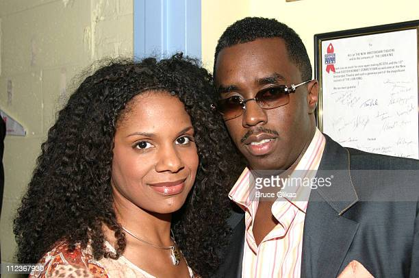 Audra McDonald and Sean 'P Diddy' Combs **EXCLUSIVE**
