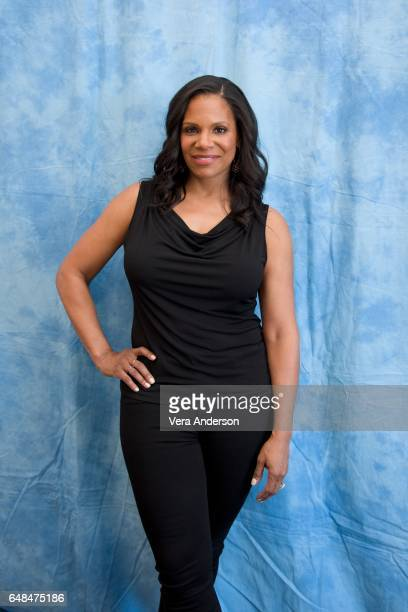 Audra McDonald at the 'Beauty and the Beast' Press Conference at the Montage Hotel on March 5 2017 in Beverly Hills California