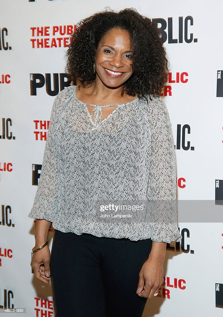 Audra McDonald attends 'Hamilton' Opening Night at The Public Theater on February 17, 2015 in New York City.