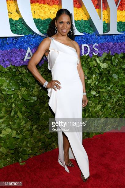 Audra McDonald attends the 73rd Annual Tony Awards at Radio City Music Hall on June 09 2019 in New York City