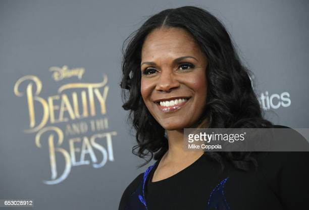 Audra McDonald attends the 'Beauty And The Beast' New York Screening at Alice Tully Hall at Lincoln Center on March 13 2017 in New York City