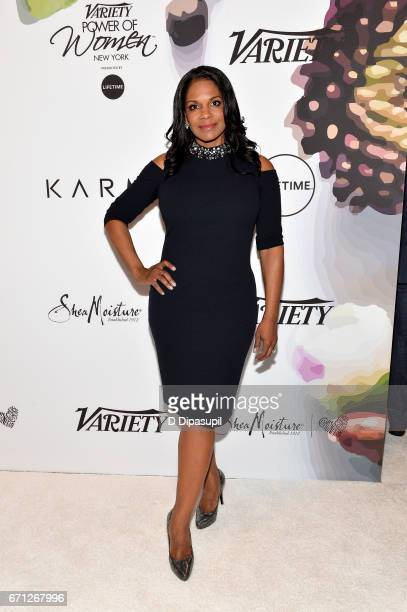 Audra McDonald attends Variety's Power of Women New York at Cipriani Midtown on April 21 2017 in New York City