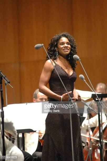 Audra McDonald during Bethel Woods Center for the Arts Inaugural Season 2006 at Bethel Woods Center for the Arts in Bethel New York United States