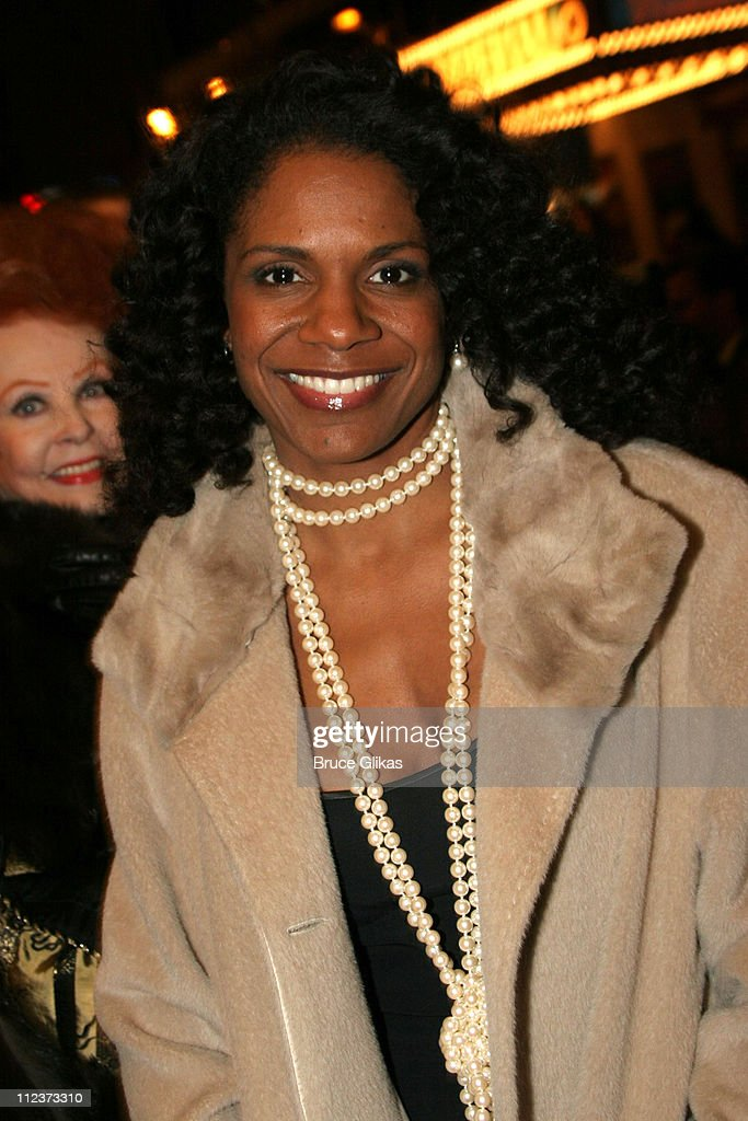 Audra McDonald during 'Chita Rivera: The Dancer's Life' Broadway Opening Night - Arrivals at The Gerald Schoenfeld Theatre in New York City, New York, United States.