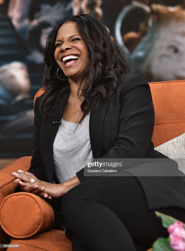 Audra McDonald is seen on the set of 'Despierta America' at Univision Studios on March 9, 2017 in Miami, Florida.