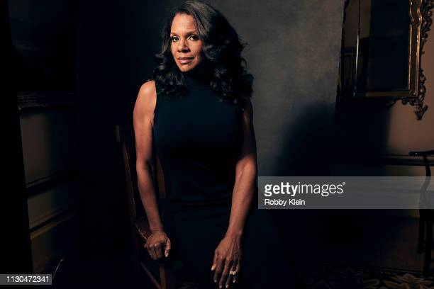 Audra McDonald of CBS's 'The Good Fight' poses for a portrait during the 2019 Winter TCA at The Langham Huntington Pasadena on January 30 2019 in...