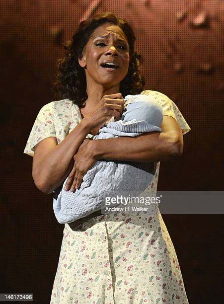 Audra McDonald of 'Porgy Bess' performs onstage at the 66th Annual Tony Awards at The Beacon Theatre on June 10 2012 in New York City