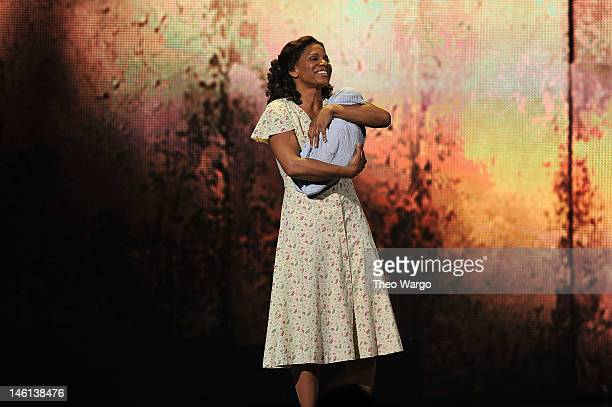 Audra McDonald performs from 'Porgy and Bess' onstage at the 66th Annual Tony Awards at The Beacon Theatre on June 10 2012 in New York City