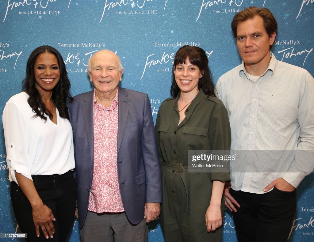 "NY: ""Frankie And Johnny In The Clair De Lune"" Company Meet The Press"