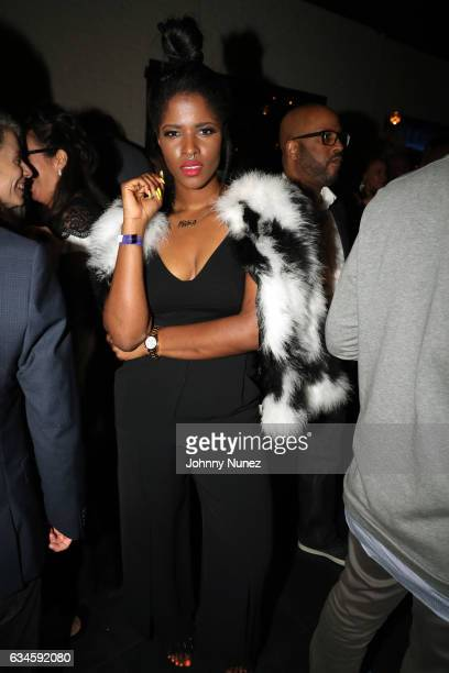 Audra The Rapper attends the Annual PreGrammy Reception hosted by Ted Reid at STK on February 9 2017 in Los Angeles California
