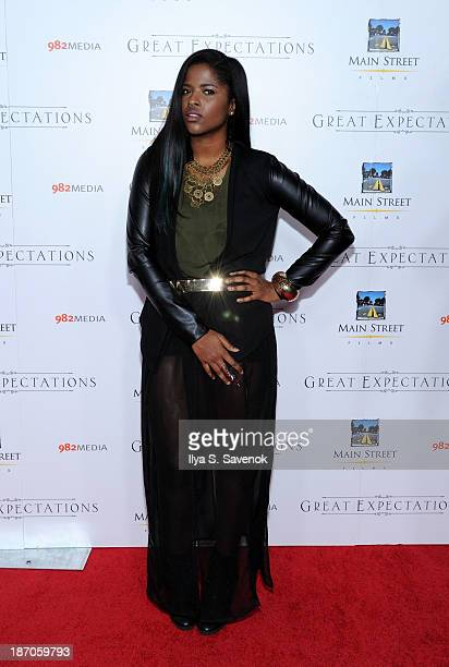 Audra The Rapper attends the New York premiere of 'Charles Dickens' Great Expectations' at AMC Loews Lincoln Square 13 theater on November 5 2013 in...