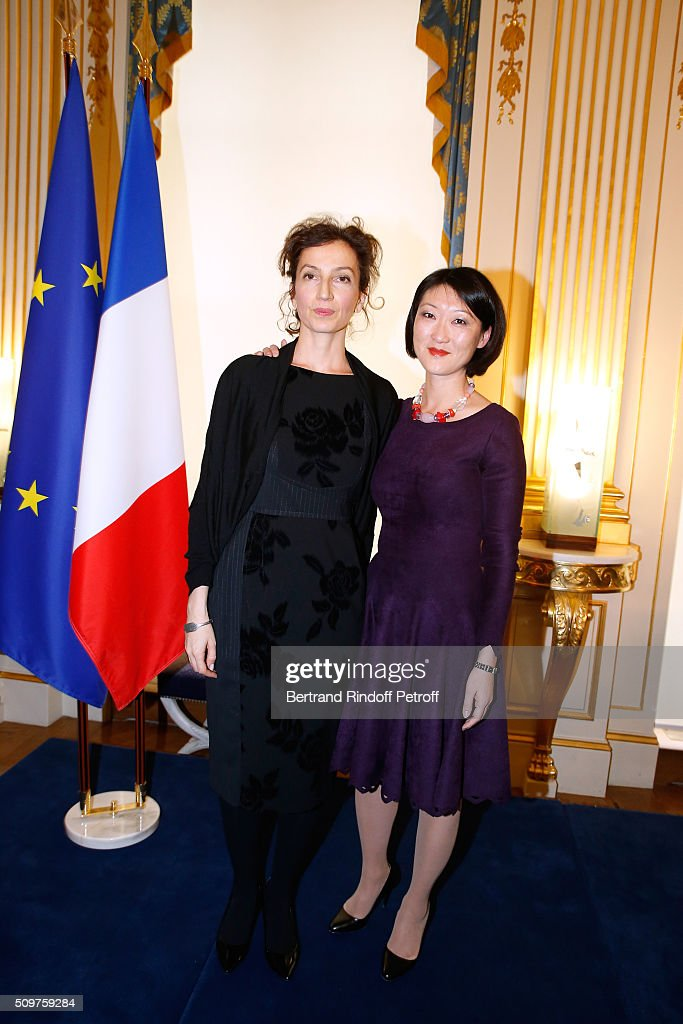 Audrey Azoulay Newly Appointed French Minister of Culture In Paris