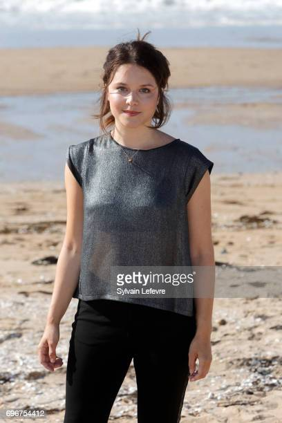 Audrey Bastien attends 'L'ame du tigre' photocall during 3rd day of the 31st Cabourg Film Festival on June 16 2017 in Cabourg France