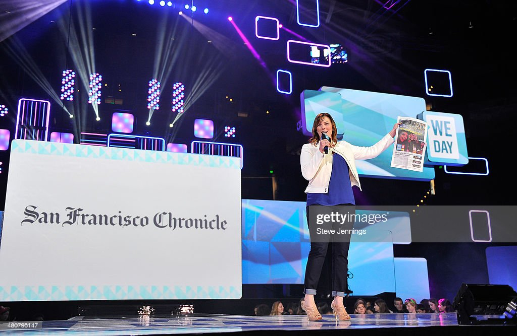We Day California At Oracle Arena : News Photo