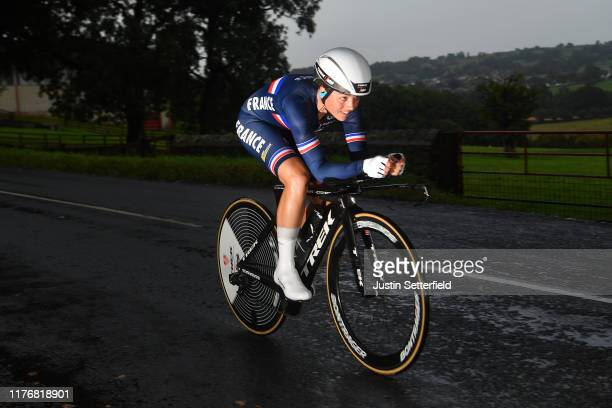 Audrey Cordon Ragot of France / during the 92nd UCI Road World Championships 2019, Women Elite Individual Time Trial a 30,3km Individual Time Trial...