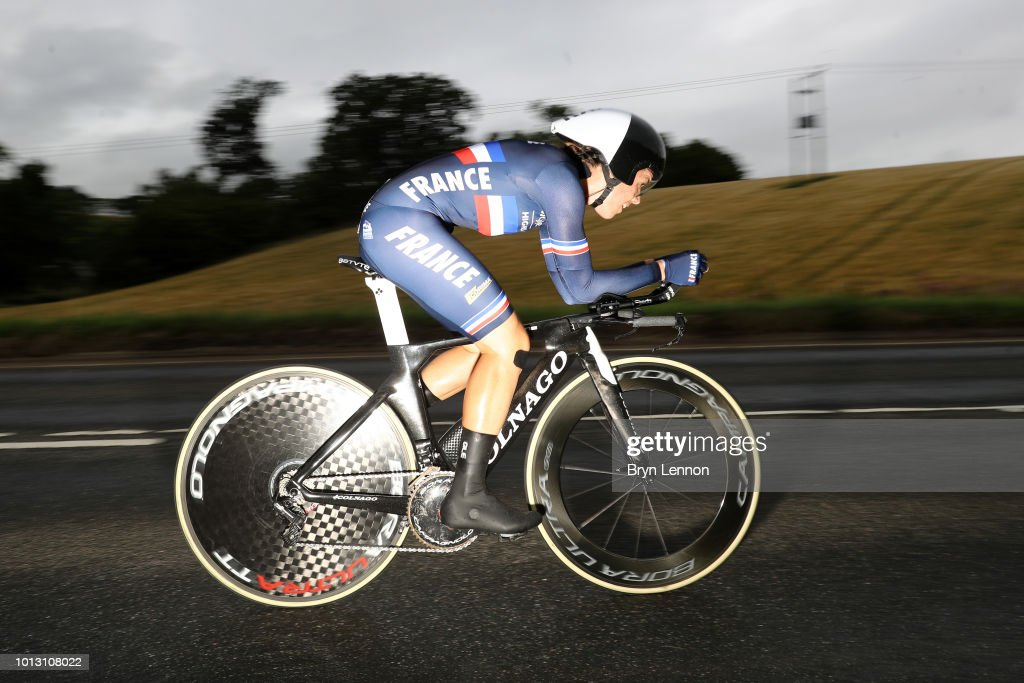 Road Cycling - European Championships Glasgow 2018: Day Seven : Photo d'actualité