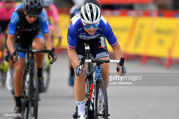 Audrey Cordon-Ragot of France and Trek- Segafredo / during the 6th Ceratizit Challenge by La Vuelta 2020, Stage 3 a 100,5km stage from Madrid to...
