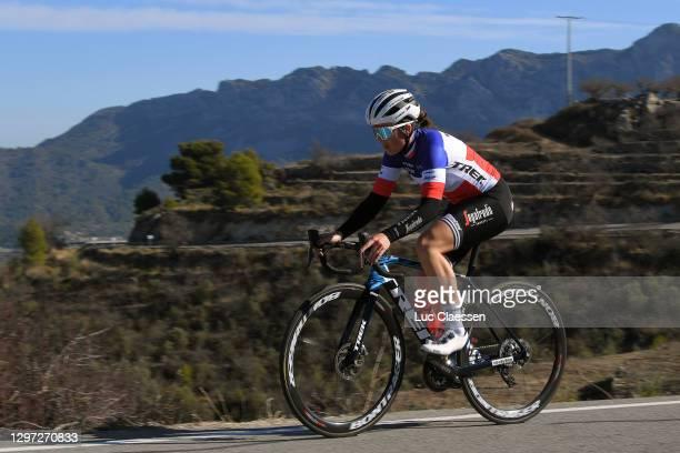 Audrey Cordon-Ragot of France during the Team Trek–Segafredo Women Elite 2021, Training / @TrekSegafredo / on January 19, 2021 in Denia, Spain.