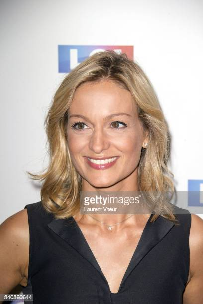 Audrey CrespoMara attends LCI Press Conference on August 30 2017 in Paris France