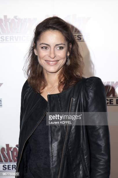 Audrey Dana attends at Asterix et Obelix au service de sa majeste film premiere at Le Grand Rex on September 30 2012 in Paris France