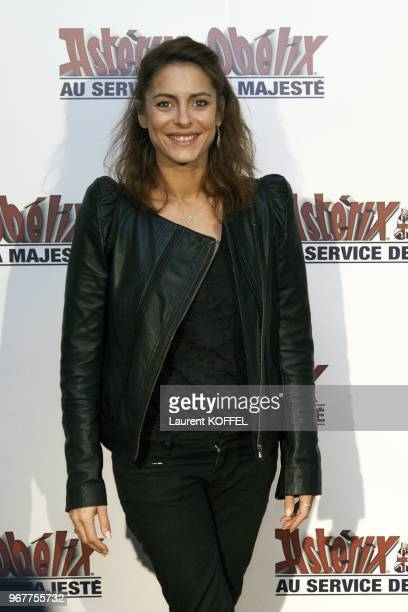 Audrey Dana attends at 'Asterix et Obelix au service de sa majeste' film premiere at 'Le Grand Rex' on September 30 2012 in Paris France