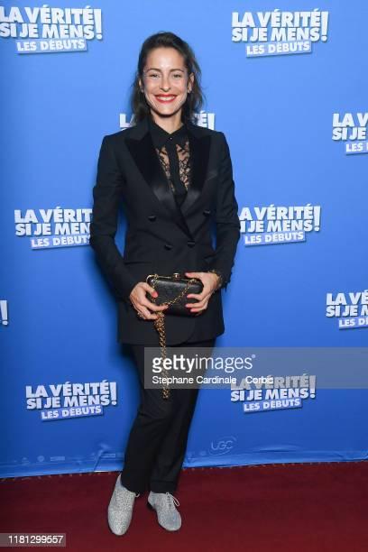 Audrey Dana attends the La Verite Si Je Mens Les Debuts premiere At cinema le Grand Rex on October 15 2019 in Paris France