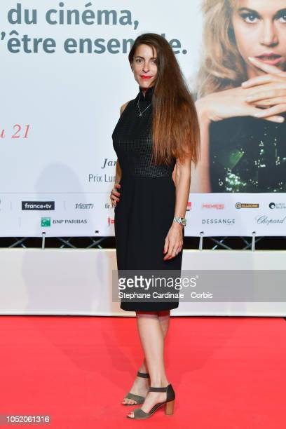 Audrey Dana attends the opening ceremony during the 10th Film Festival Lumiere on October 13 2018 in Lyon France