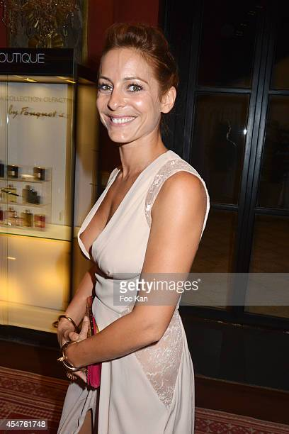 Audrey Dana attends the Opening Dinner Party 40th Deauville American Film Festival at the Casino Lucien Barriere on September 5 2014 in Deauville...