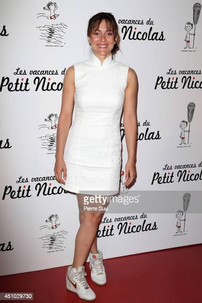 Audrey Dana attends the premiere of 'les Vacances Du Petit Nicolas' at Cinema Gaumont Capucine on June 22 2014 in Paris France