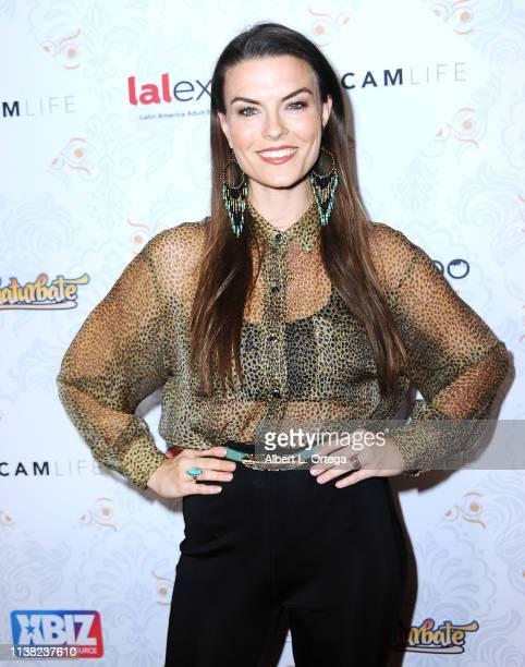 Audrey DeLeon arrives for the premiere of Gravitas Ventures' 'A Cam Life' held at Regal Cinemas LA Live on April 19 2019 in Los Angeles California