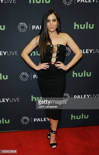 Audrey Esparza attends PaleyLive NY an evening with the cast creator of Blindspot at The Paley Center for Media on April 11 2016 in New York City