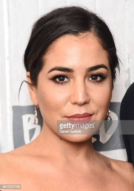 Audrey Esparza attends the Build Series to discuss the NBC show 'Blindspot' at Build Studio on April 16 2018 in New York City