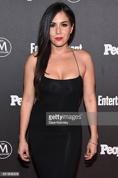 Audrey Esparza attends the Entertainment Weekly People Upfronts party 2016 at Cedar Lake on May 16 2016 in New York City