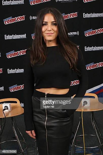 Audrey Esparza visits the SiriusXM Studios during New York Comic-Con at The Jacob K. Javits Convention Center on October 11, 2015 in New York City.
