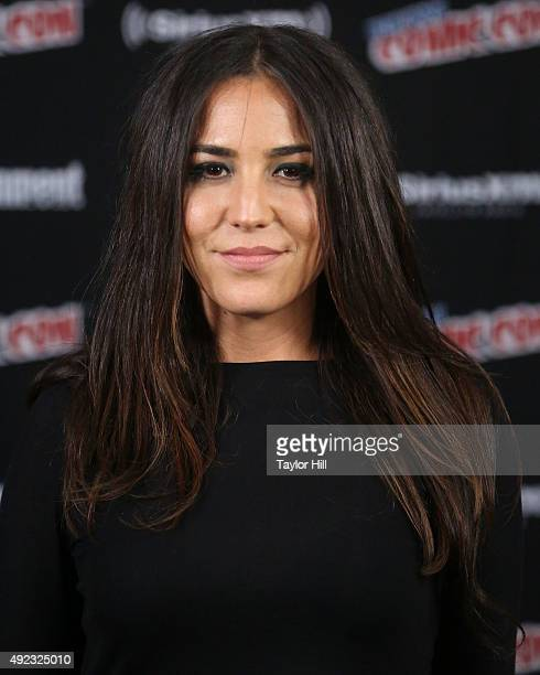 Audrey Esparza visits the SiriusXM Studios during New York ComicCon at The Jacob K Javits Convention Center on October 11 2015 in New York City