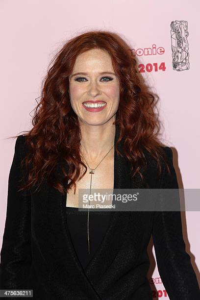 Audrey Fleurot arrives for the 39th Cesar Film Awards 2014 at Theatre du Chatelet on February 28 2014 in Paris France
