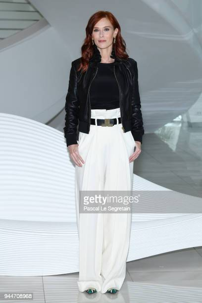 """Audrey Fleurot attends """"Safe"""" Photocall during the 1st Cannes International Series Festival on April 11, 2018 in Cannes, France."""