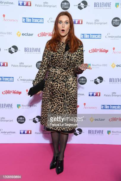 """Audrey Fleurot attends the 27th """"Trophees Du Film Francais"""" photocall At Palais Brongniart on February 11, 2020 in Paris, France."""