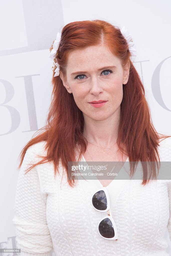 Audrey Fleurot attends the 'Brunch Blanc' hosted by Barriere Group. Held on Yacht 'Excellence' on June 29, 2014 in Paris, France.