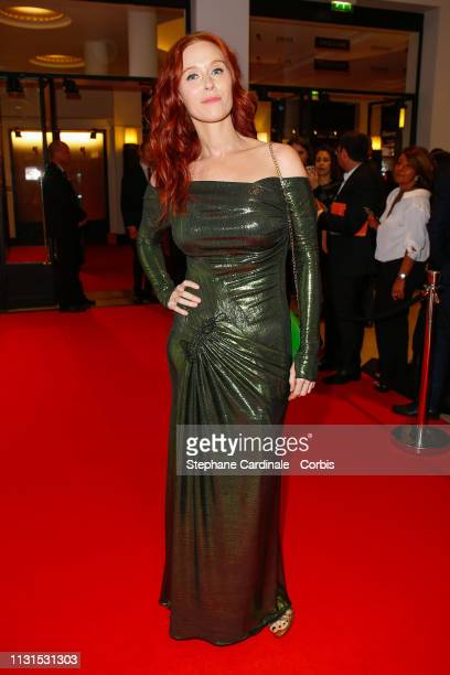 Audrey Fleurot attends the Cesar Film Awards 2019 at Salle Pleyel on February 22, 2019 in Paris, France.