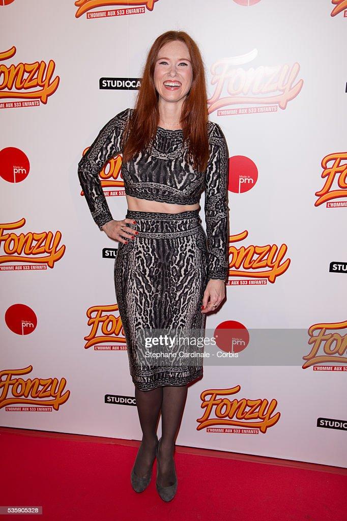 Audrey Fleurot attends the 'Fonzy' Paris Premiere at Cinema Gaumont Opera, in Paris.