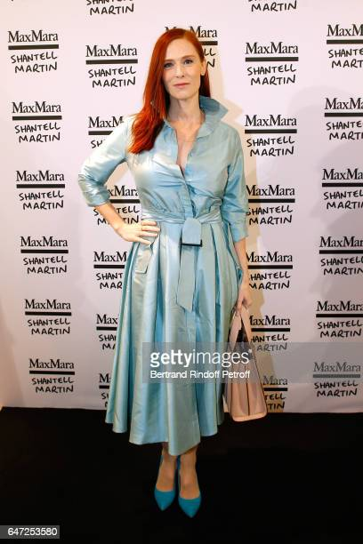 Audrey Fleurot attends the Max Mara 'Prism in Motion' Eventas with the presentation of the new collection Capsule of sunglasses Max Mara realized in...