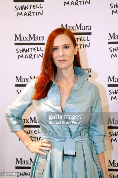 Audrey Fleurot attends the Max Mara 'Prism in Motion' Eventas, with the presentation of the new collection Capsule of sunglasses Max Mara, realized...