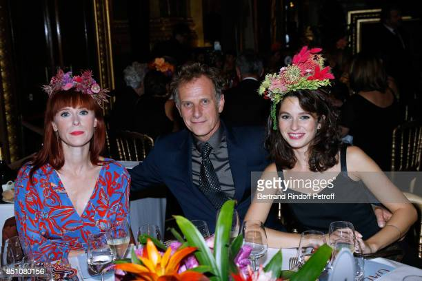 Audrey Fleurot Charles Berling and his companion attend the Opening Season Gala Ballet of Opera National de Paris Held at Opera Garnier on September...
