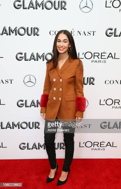 Audrey Gelman attends 2018 Glamour Women Of The Year Summit Women Rise at Spring Studios on November 11 2018 in New York City
