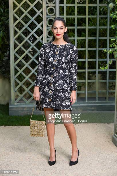 Audrey Gelman attends the Chanel Haute Couture Spring Summer 2018 show as part of Paris Fashion Week January 23 2018 in Paris France