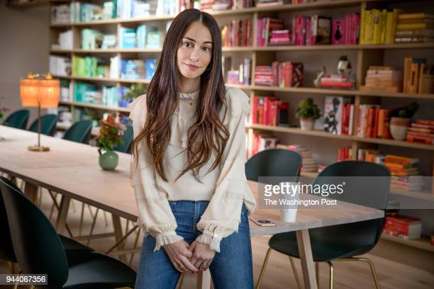 Audrey Gelman the founder of The Wing a women's only coworking space and organization April 9 2018 in Washington DC The Wing started in NYC and DC is...