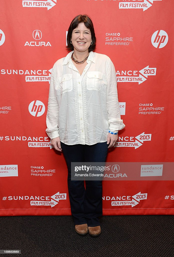 Audrey Gordon arrives at the 2013 Sundance Film Festival Premiere of 'Life According To Sam' at Temple Theater on January 21, 2013 in Park City, Utah.