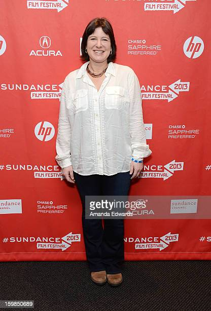 Audrey Gordon arrives at the 2013 Sundance Film Festival Premiere of Life According To Sam at Temple Theater on January 21 2013 in Park City Utah